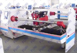 Servo-Driven Auto Tape Log Roll Cutting Machine (FR-1300A) pictures & photos