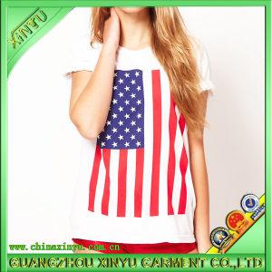 Wholesale 100%Cotton Women T Shirt pictures & photos