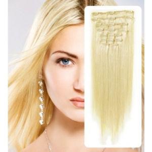Human Hair Virgin Remy Hair Clip in Hair Extension