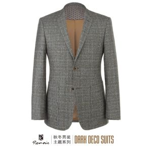 OEM 2017 Notch Lapel Woolen Men′s Blazer pictures & photos