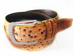 2014 Special Design Featheredged Men′s Belt pictures & photos