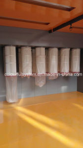 Manual Spray Booth Equipment for Powder Coating pictures & photos