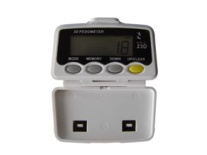 Digital Pocket 3D Pedometer Walking Calorie LCD Counter (KFJ-23D)
