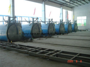 High Quality Stainless Steel Autoclaved Aerated Concrete Brick Production Line Autoclave for Industry with Valves pictures & photos