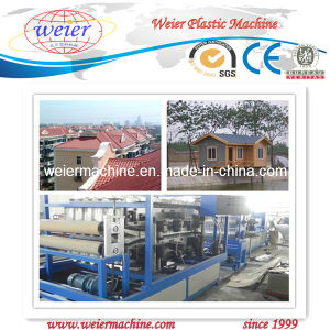 PVC Glazed Plate Roof Extrusion Line pictures & photos