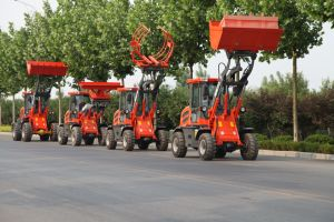 Everun Brand CE Approved Articulated 1.2 Ton Small Loader pictures & photos