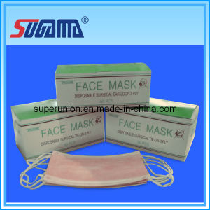 Hot Sell Disposable Face Masks 3ply Ear Loop pictures & photos