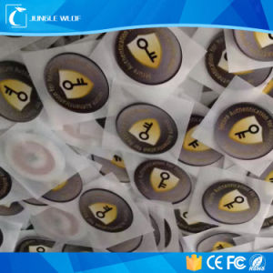 125kHz Tk4100/Em4200 RFID Label with Glue Sticker pictures & photos