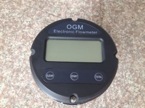 Multipurpose Aluminum Oval Gear Flow Meter with Electronic Register (OGM)