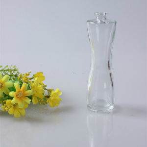 100 Wholesale Mini Small Sample Use Round Shape Perfume Glass Bottle 50ml