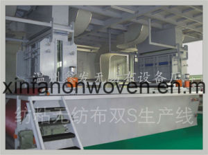 Nonwoven Double Beam Machine