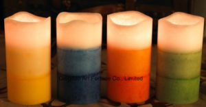 Aroma Flameless LED Candle Manufacturer for Home Hotel Decor pictures & photos