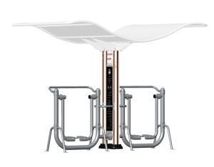 Nscc-Outdoor Fitness Equipment - Double Column with Roof (JMB-08XO) pictures & photos