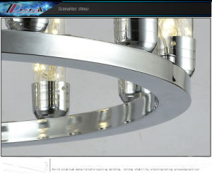 Simple Design Aluminium Crystal Pendant Lamp pictures & photos