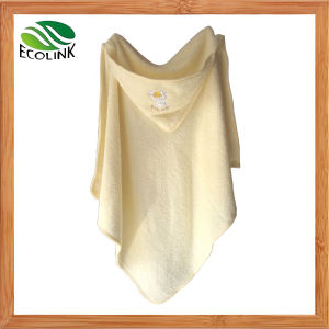 Bamboo Fibre Hooded Towel for Baby and Kids pictures & photos