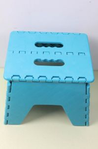 Plastic Folding Stool Children Indoor Chair pictures & photos
