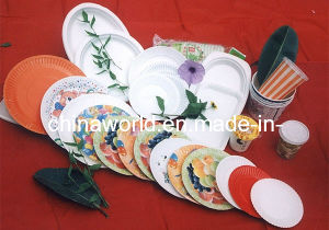 Disposable Paper Plate Making Machine (ZDJ-300K) pictures & photos