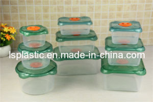 Plastic Food Storage Containers with Different Shapes (LS-2013)