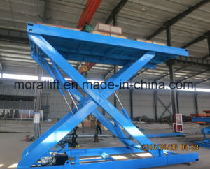 Hydraulic Scissor Car Elevator Used in Garage pictures & photos