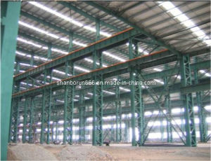 Qatar Steel Structure Prefab Light Industrial Steel Buildings with Auto CAD & 3D Tekla Design (BR00095)