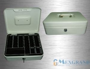 Lockable Cash Box with Euro Tray /Money Box (Euro Series) pictures & photos