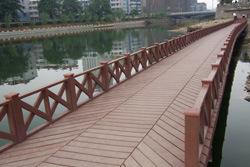 Wood Plastic Landscape Plank