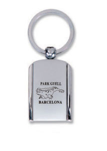 Silk Printed Metal Keychain for Promotion Gift pictures & photos