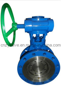 Stainless Steel Butterfly Valve with Gear Operated pictures & photos
