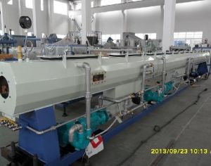 Pipe Extrusion Pipe Line - PVC, PE HDPE pictures & photos