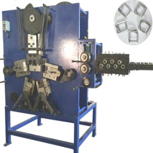 Mechanical Woven Square Strapping Wire Buckle Making Machine pictures & photos