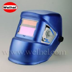 Auto Darkening Welding Helmet (WH2511 Blue) pictures & photos
