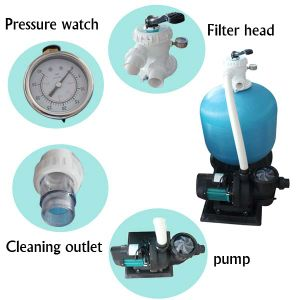Factory High Performance Fiber Glass Swimming Pool Sand Filter pictures & photos