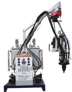pu foam injection machine