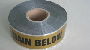 Underground Cable Detectable Warning Tape, Alunimum Foil Marking Tape pictures & photos