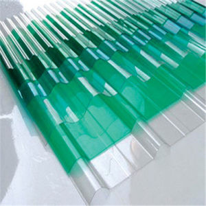 Transparent High Quality Corrugated Polycarbonate Sheet pictures & photos