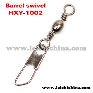 Hot Selling Fishing Barrel Swivel with Safety Snap pictures & photos
