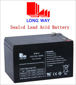 Rechargeable UPS Lead Acid Battery 12V12ah pictures & photos