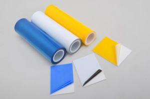 Self-Adhesive PVC Sheets Masking Film pictures & photos