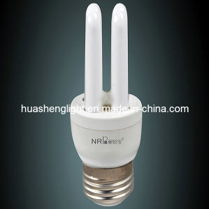 Zhongshan Factory 8, 000 Hours 5-11W 9mm 2u CFL/Energy Saving Lamp (NRB-2U)