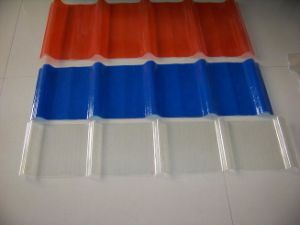 FRP Transparent Panels/FRP Corrugated Roofing Sheets pictures & photos