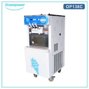Portable Soft Serve Ice Cream Machine Op138c pictures & photos