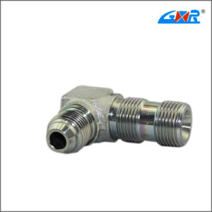 90 Degree JIS Gas Male 60 Degree Cone Bsp Male O-Ring Hose Adapter (XC-1BG9) pictures & photos