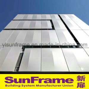Aluminium Curtain Wall System with Composite Panel pictures & photos
