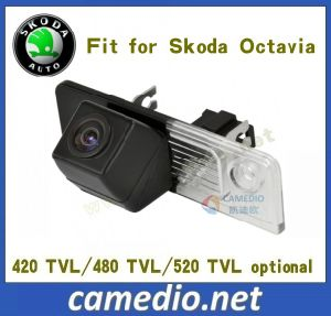 170 Degree Waterproof CMOS/CCD OEM Specialzed Car Rear View Backup Camera for Skoda Octavia pictures & photos