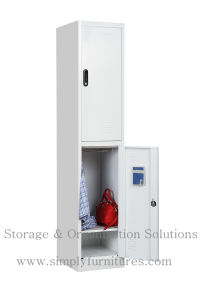 Metal 2-Door Locker with Coded Lock (SMPSL-2D) pictures & photos