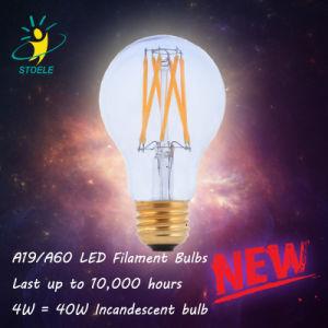 A19/A60 E26 Decorative LED Filament Bulb LED Light Bulb pictures & photos