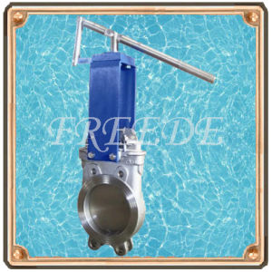 Lever Operated Knife Gate Valve