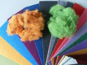 Colored Polyester Fiber pictures & photos