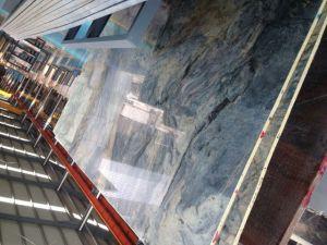Polished Fusion Slabs Blue Color Granite Quartz Countertop Natural Quartzite pictures & photos