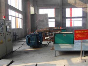 Side Embedding Type Electrode Salt Bathing Furnace